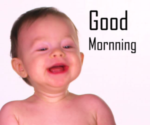 Cute Baby Good Morning Images Pics